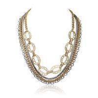 Ожерелья из металла, Железо, с 5cm наполнитель цепи, Другое покрытие, Женский, не содержит свинец и кадмий, 42.7cm, Продан через Приблизительно 16.5 дюймовый Strand