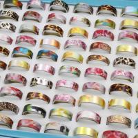 Модные кольца, цинковый сплав, Платиновое покрытие платиновым цвет, Мужская & разнообразный, не содержит свинец и кадмий, 20x7mm-23x7mm, размер:6-9, 100ПК/Box, продается Box