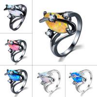 Кольца из латуни, Латунь, Другое покрытие, разный размер для выбора & Женский & граненый, Много цветов для выбора, не содержит никель, свинец, 15mm, продается PC