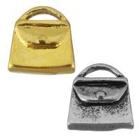 Ювелирные подвески из нержавеющей стали, нержавеющая сталь, Сумка, Другое покрытие, Много цветов для выбора, 9.50x9.50x4mm, отверстие:Приблизительно 4x1.5mm, 10ПК/сумка, продается сумка