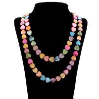Ракушка Свитер ожерелье, Мужская, 11x13mm, длина:Приблизительно 22 дюймовый, 10пряди/сумка, продается сумка