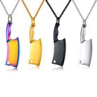 титан подвески, Меч, покрыт лаком, Много цветов для выбора, 47mm, отверстие:Приблизительно 6mm, продается PC