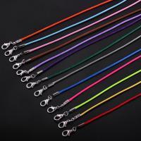 Вощеная Конопля шнура Шнурок для ожерелий, Много цветов для выбора, 1.2mm, 100пряди/Лот, продается Лот
