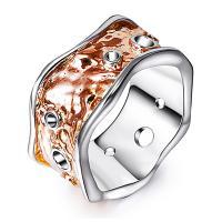 Кольца из латуни, Латунь, Другое покрытие, разный размер для выбора & Женский & двухцветный & отверстие, не содержит никель, свинец, 22mm, продается PC
