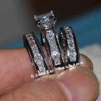 Кольца из латуни, Латунь, Другое покрытие, разный размер для выбора & со стразами, Много цветов для выбора, продается PC
