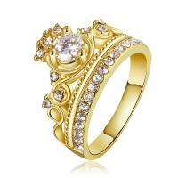 Модные кольца, цинковый сплав, Другое покрытие, разный размер для выбора & Женский & со стразами, Много цветов для выбора, продается PC