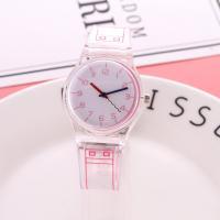 Часы унисекс, пластик, с Стеклянный, Мужская, Много цветов для выбора, 40mm, длина:Приблизительно 9.5 дюймовый, 2ПК/Лот, продается Лот