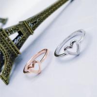 Модные кольца, цинковый сплав, Сердце, Другое покрытие, Женский, Много цветов для выбора, не содержит никель, свинец, продается PC
