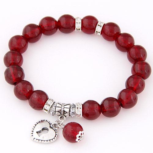 15204450c506 Pulsera de perlas vidrio abalorios joyería por mayor china Joyería ...