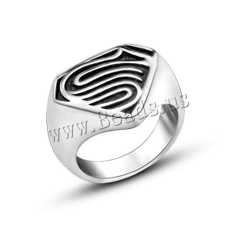 Átmenetek rozsdamentes acél férfi Ujj gyűrű ec30f7a2b9