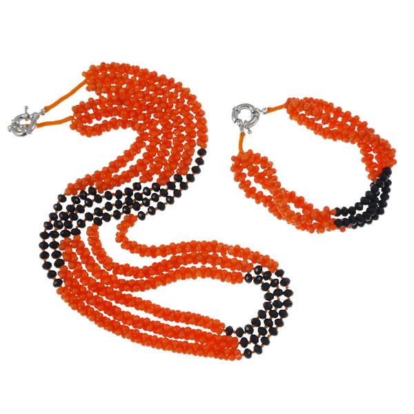 Přírodní korálové šperky Set 16e7529d15